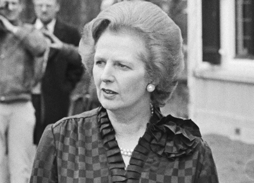 Margarth Thatcher in 1981 (CC0 - Anefo - Marcel Antonisse - wiki)