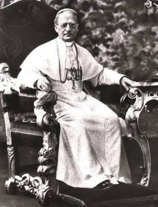 Paus Paus Pius XI (Publiek Domein - wiki)