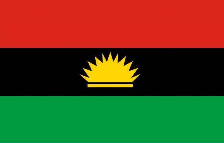 Biafra-oorlog - Vlag van de republiek Biafra