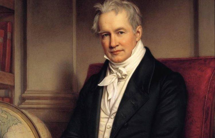 Alexander von Humboldt, 1843, door Joseph Karl Stieler