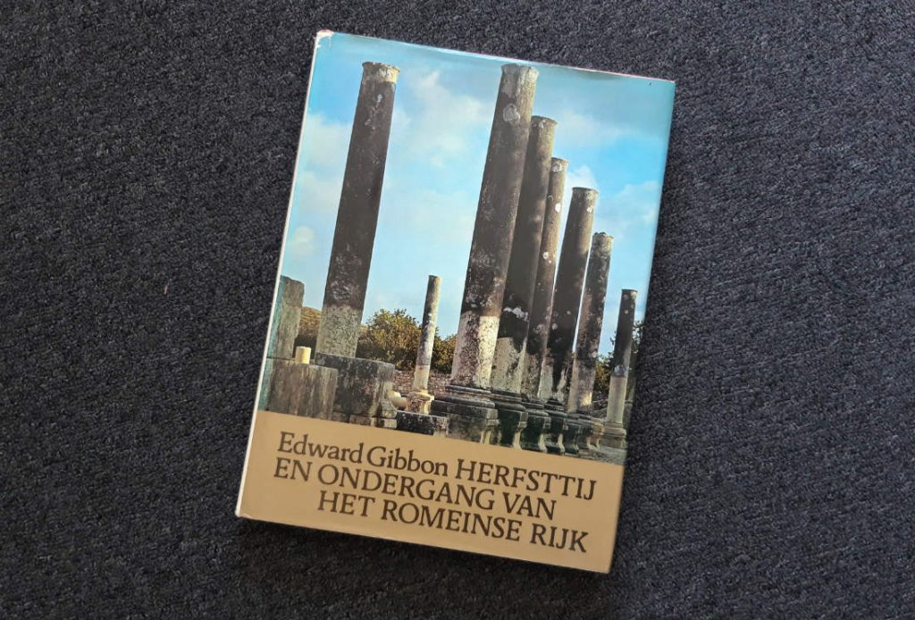 Nederlandse uitgave van Gibbon's beroemde werk - Foto: Historiek
