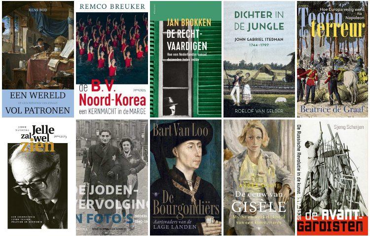 Longlist van de Libris Geschiedenis Prijs 2019