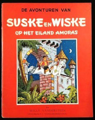 'Suske en Wiske op het Eiland Amoras' - Afb: Catawiki