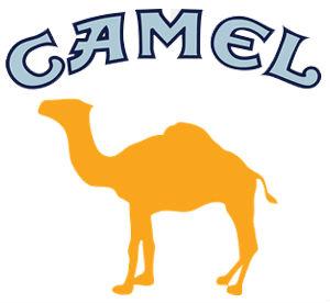 Logo van het sigarettenmerk Camel