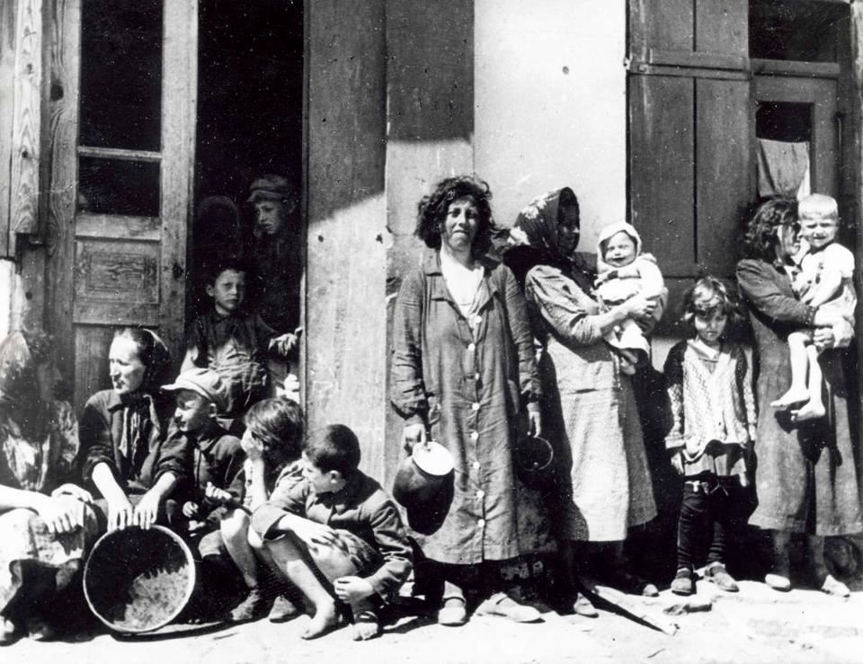 Joden in Lemberg, bron cc/ publiek domein
