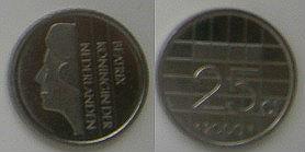 Kwartje uit 2000 (CC BY-SA 3.0 - Pindanl - wiki)