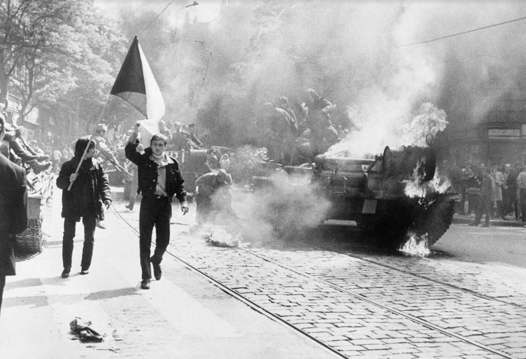 Invasie in Tsjechoslowakije (Publiek Domein - Central Intelligence Agency - wiki)
