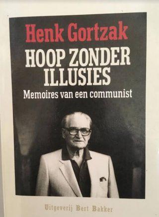 Autobiografie Henk Gortzak Bron: eigen foto.