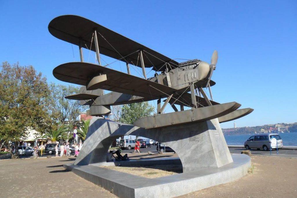 Monument ter ere van Gago Coutinho en Sacadura Cabral  (Foto: Rudi Schrever)