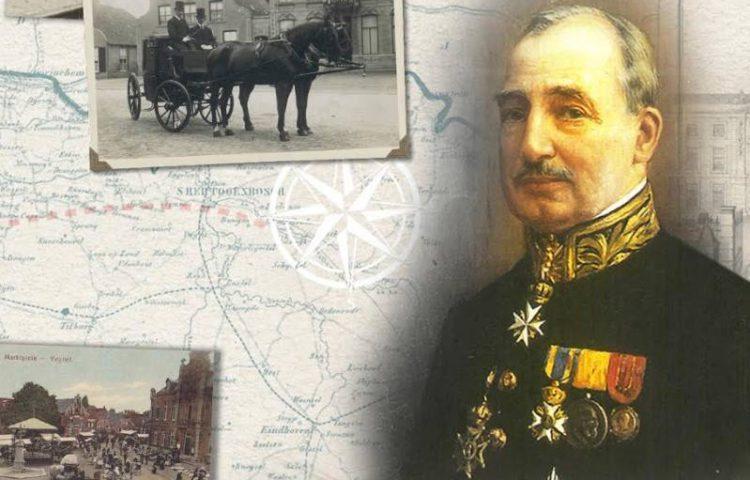 Portret van mr. A.E.J. baron Van Voorst tot Voorst Commissaris van de Koningin in Noord-Brabant. Dit olieverf schilderij van Piet Slager (1871-1938) hangt in de GS-kamer van het Provinciehuis in Noord-Brabant. De Commissaris is in 1928 op het doek vastgelegd. (BHIC)