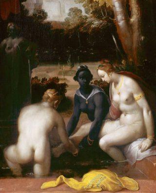 Cornelis van Haarlem: Batseba in bad (Publiek Domein - wiki)