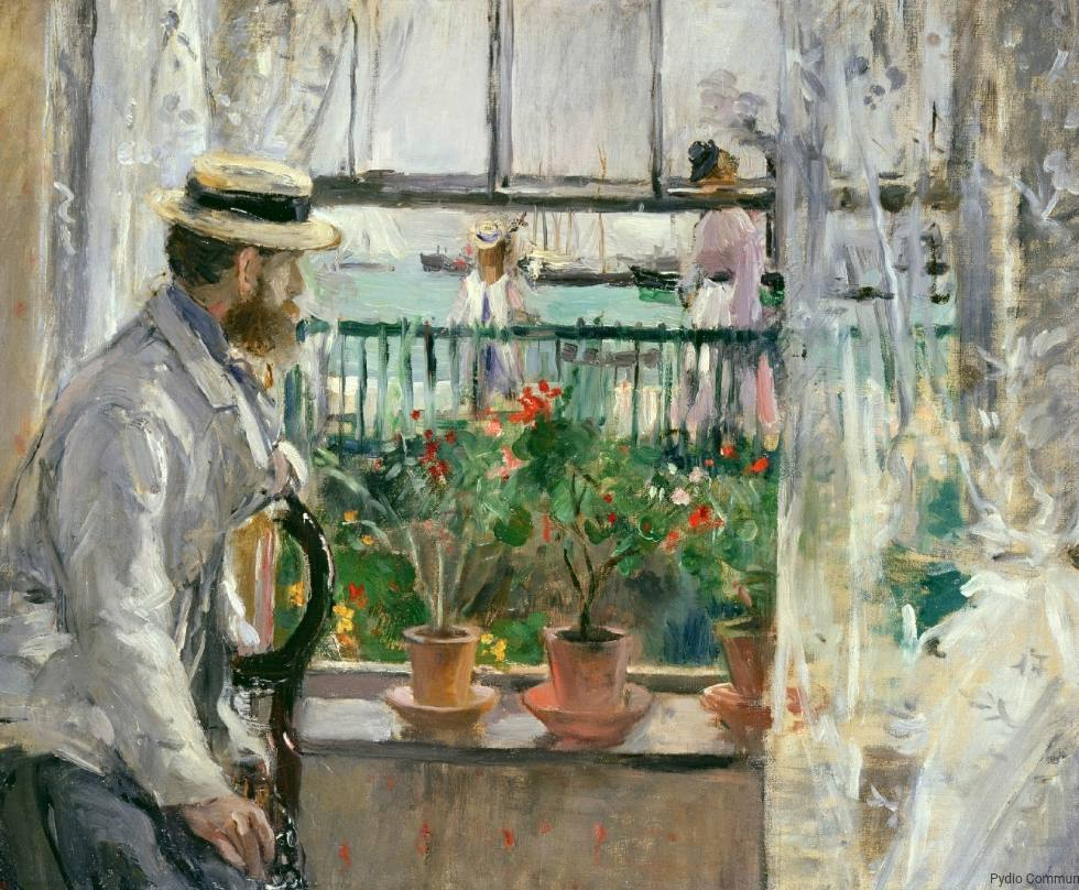 En Angleterre (Eugène Manet à l'île de Wight) - Berthe Morisot, 1875 (© Musée Marmottan Monet, Paris / the Bridgeman Art Library)