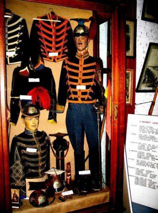 Belgische lansiers, zoals te zien in het museum in Rotem, vlakbij Halen (CC BY-SA 3.0 - Paul Hermans - wiki)