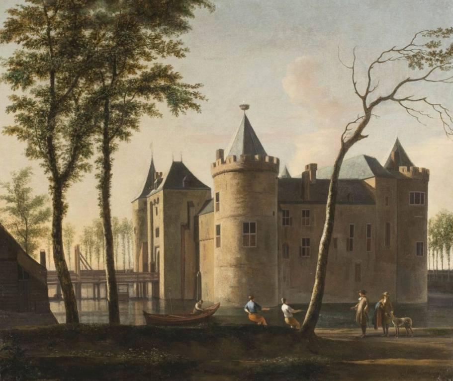 Gerrit Berckheyde - Muiderslot (Publiek Domein - wiki)