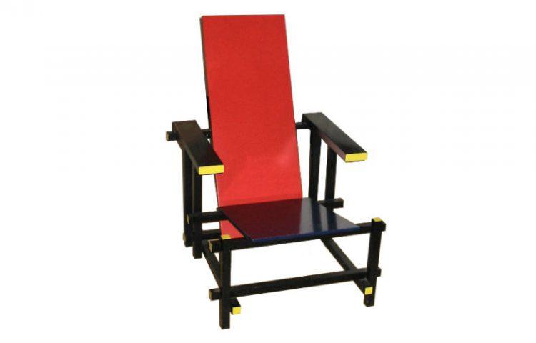De Rietveldstoel of Rood-blauwe stoel