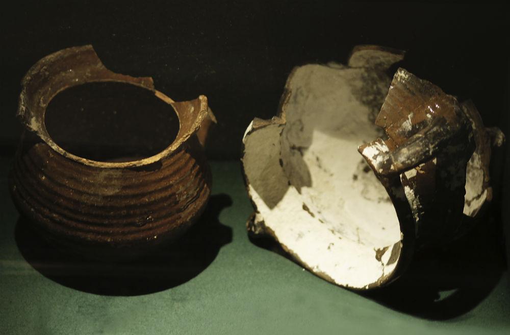 De twee grapen uit de beerput bij het Rembrandthuis (Foto: Rembrandthuis)