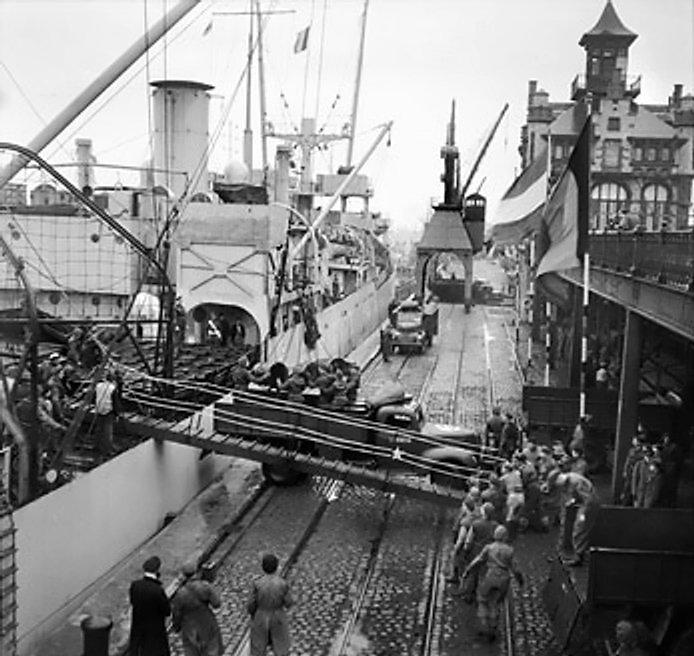 Het ss Fort Cataraqui in de haven van Antwerpen (Publiek Domein - wiki)