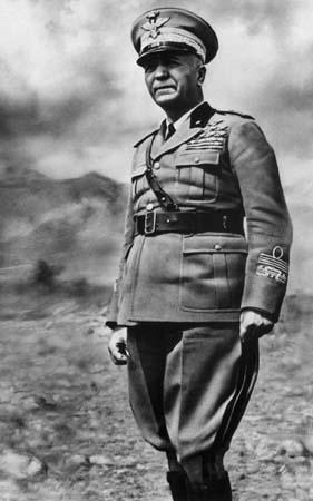 Pietro Badoglio tijdens de Tweede Wereldoorlog (Publiek Domein - wiki)