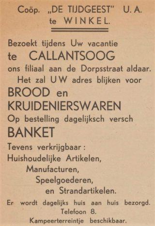 Uit een Badbode van 1938