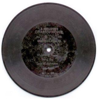 Berliner grammofoonplaat (GFDL - wiki)