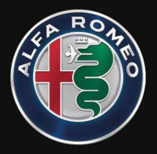 Huidige logo van Alfa Romeo