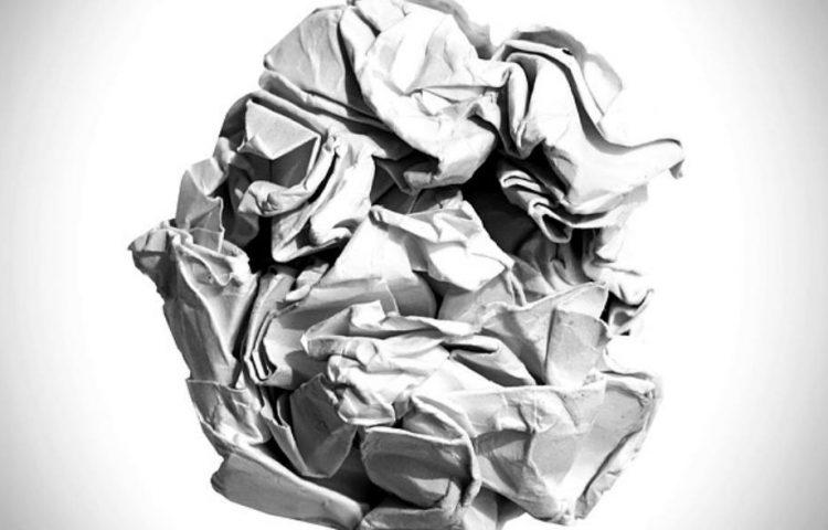 Op de proppen komen met iets - Prop papier (CC0 - Pixabay - 41330)