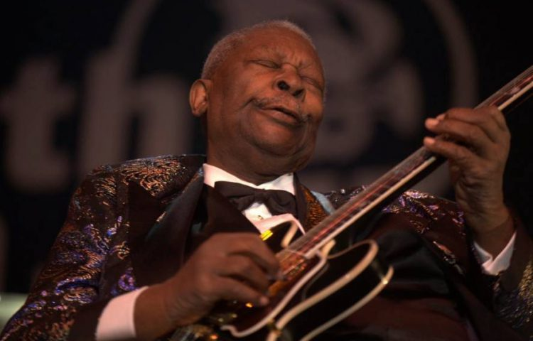B.B. King in 2009 (CC BY 2.0 - Tom Beetz - wiki)