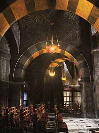 Bovenverdieping van de Aachener Dom (CC BY-SA 3.0 - Bpa - wiki)