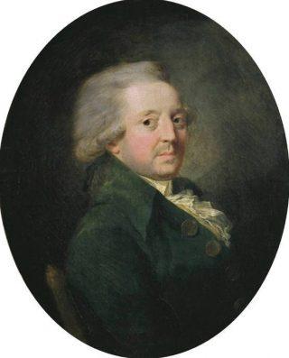 Nicolas de Condorcet op een schilderij van Jean-Baptiste Greuze (Publiek Domein - wiki)