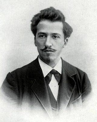 Piet Mondriaan in 1899 (Publiek Domein - wiki)