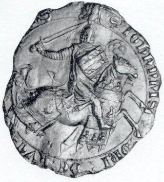 Ruiterzegel Jan van Cuijk (1296), CSN 1036.