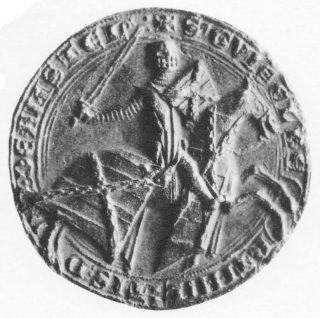 Ruiterzegel Gijsbrecht IV van Amstel (1285), CSN 665.