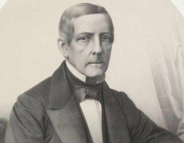 Portret van Guillaume Groen van Prinsterer, Wilhelmus Cornelis Chimaer van Oudendorp, 1832 - 1873 (Rijksmuseum)
