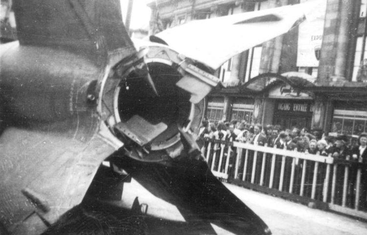 V2-raket in Antwerpen (CC BY-SA 3.0 - Jan B.H.A. Vervloedt - wiki)