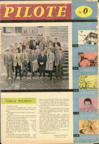 Cover van de eerste uitgave van Pilote