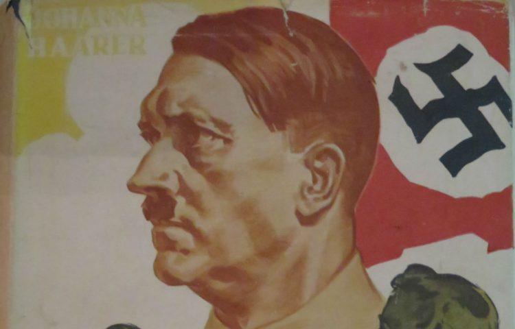 Detail van het antisemitische boek van Johanna Haarer