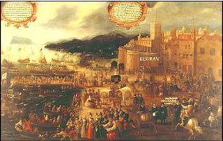 Inscheping van de moriscos te Valencia 1609