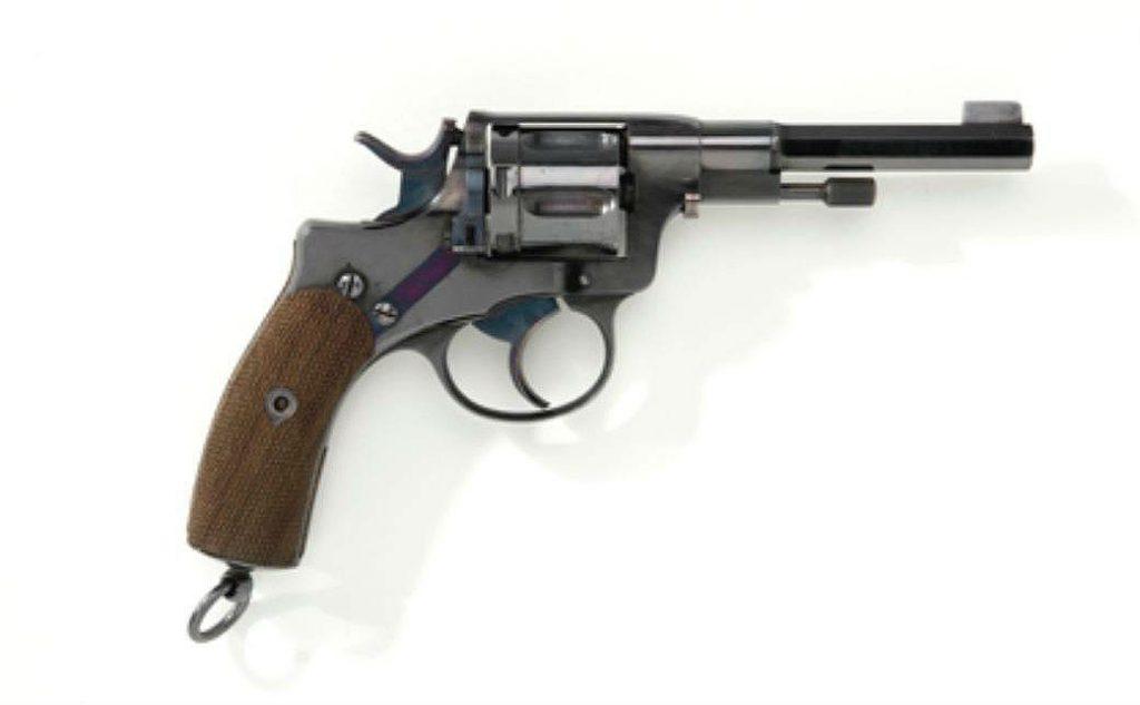 Russische revolver uit circa 1890