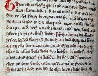 Detail uit het Fivelgoër en Oldambtster landrecht landrecht