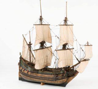 Model van een fluitschip (CC BY-SA 3.0 - Anneli Karlsson - wiki)