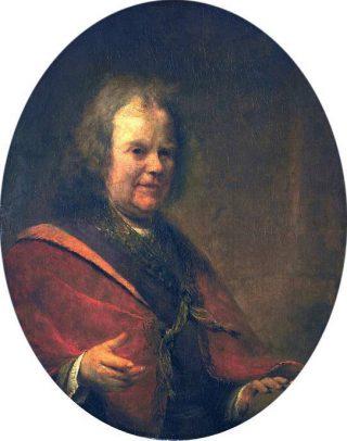 Herman Boerhaave, geschilderd door Arent de Gelder in 1722