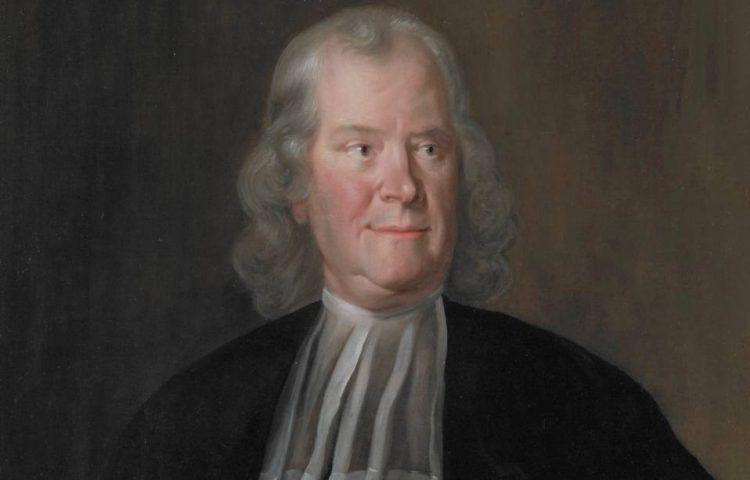 Herman Boerhaave 67 jaar oud, geschilderd door Cornelis Troost
