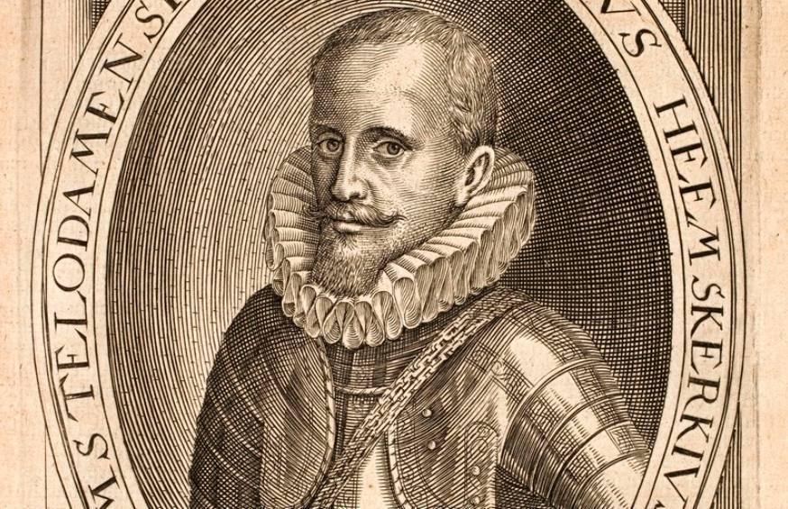 Jacob van Heemskerck - Portret door Emanuel van Meteren