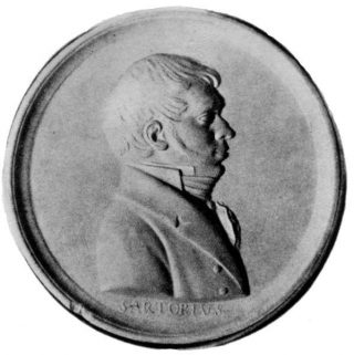Georg Friedrich Sartorius (1765-1828), vader van de Hanzeatische geschiedschrijving. Onbekende maker, vóór 1827