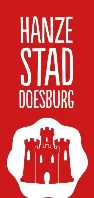 Modern logo van Hanzestad Doesburg