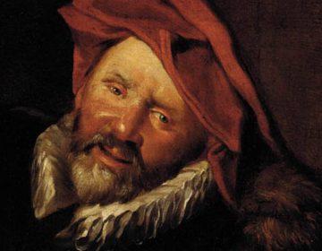 Hansworst, verbeeld door een navolger van Frans Hals
