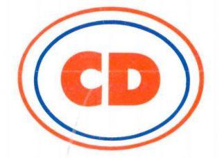 Centrumdemocraten (CD) - logo