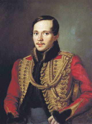 Michail Lermontov. Portret door Pjotr Zabolotski