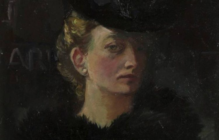 Jeanne Bieruma Oosting, zelfportret, 1932