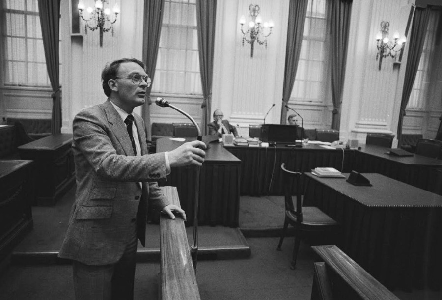 Janmaat in de Tweede Kamer, 1984